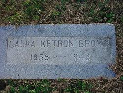 Laura Elizabeth <i>Hicks Ketron</i> Brown