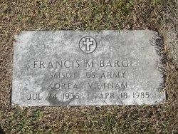 Sgt Francis Martin Frank ( Buddy) Barger