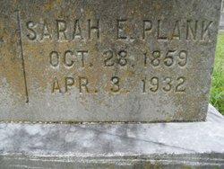 Sarah E Plank