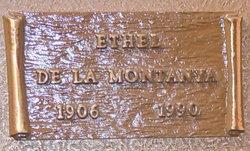 Ethel Frances <i>Goodwin</i> De La Montanya