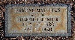 Imogene <i>Matthews</i> Ellender