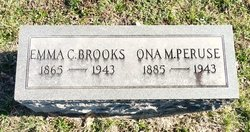 Emma Cedora <i>Entsminger</i> Brooks