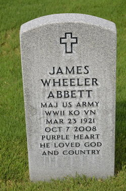 James Wheeler Abbett