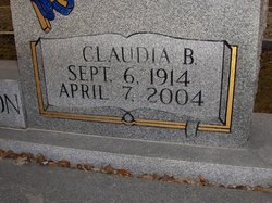 Claudia <i>Baxter</i> Thompson