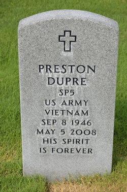 Preston Dupre
