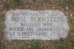 Rose <i>Zeeve</i> Bernstein