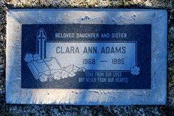 Clara Ann Adams