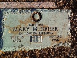 Mary Melinda <i>Davis</i> Speer
