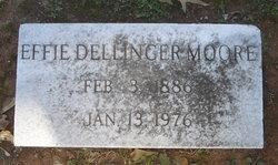 Effie Ella <i>Dellinger</i> Moore