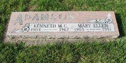 Mary Ellen <i>McKinney</i> Adamson