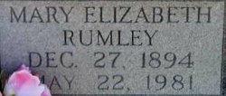 Mary Elizabeth <i>Rumley</i> Huffman