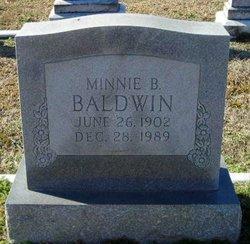 Minnie Leola <i>Brown</i> Baldwin