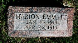 Marion Emmett Crumbaker
