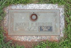 Mayme Pearl <i>Farris</i> Bridges