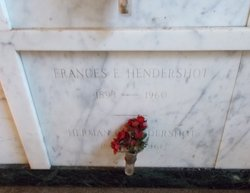 Frances E Hendershot