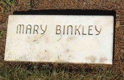 Mary Binkley