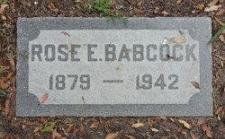 Rose E Babcock