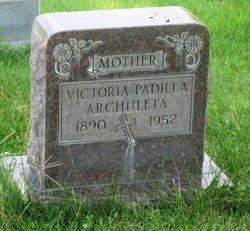 Victoria <i>Padilla</i> Archuleta