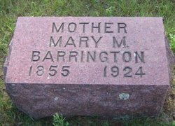 Mary <i>Harris</i> Barrington