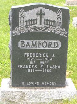 Frances E <i>LaSha</i> Bamford