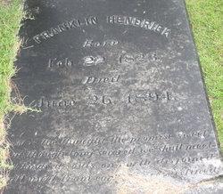 Franklin Hendrick