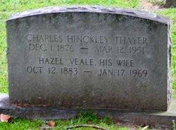 Hazel <i>Veale</i> Thayer