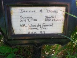 Jennie A. Davis