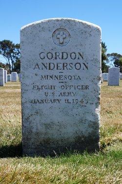 Gordon F Anderson