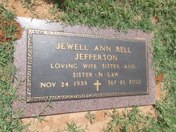 Jewell <i>Bell</i> Jefferson