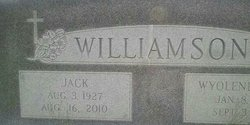 Jack L Williamson, Sr