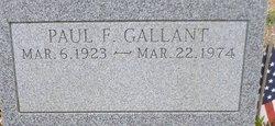 Paul F Gallant