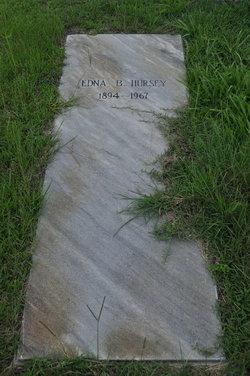 Edna <i>Bland</i> Hursey