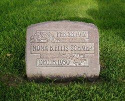 Nona B. <i>Ellis</i> Schmer