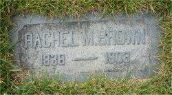 Rachel <i>Morgan</i> Brown