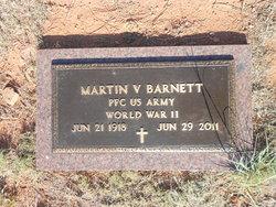 PFC Martin Vernon Barnett