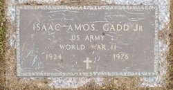 Isaac Amos Gadd, Jr