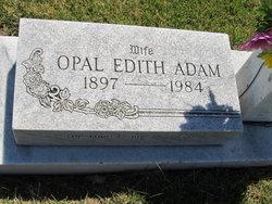 Opal Edith <i>Gatchell</i> Adam