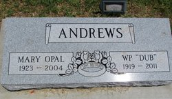 Mary Opal <i>Hyten</i> Andrews