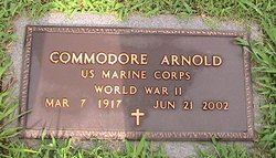 Commodore Isom Arnold
