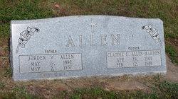 Claudie E <i>Thompson</i> Allen-Harden