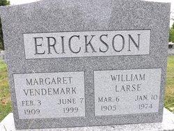 Margaret <i>Vendemark</i> Erickson