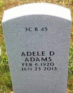 Adele Dowling <i>Pickens</i> Adams