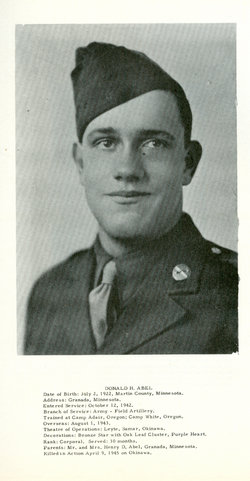 Corp Donald H Abel