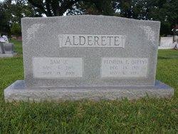 Florida Elizabeth Sitty <i>Young</i> Alderete