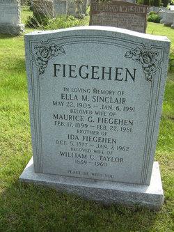 Ella M. <i>Sinclair</i> Fiegehen