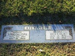 John Gillespie Alexander