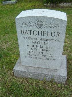 Alice Mary <i>Bye</i> Batchelor