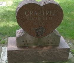 Elizabeth M. Betsy <i>Foley</i> Crabtree
