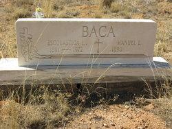 Manuel L Baca