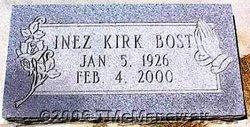Inez <i>Kirk</i> Bost